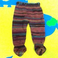 Вязание для малышей. Мастер-класс по вязанию ползунков «Осень-ка»