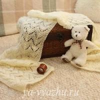 Ажурный шарф-пелерина и кое-что еще от Маргариты Кузнецовой