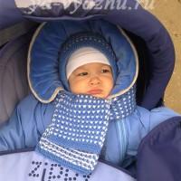Вашему малышу будет тепло! (шапочка + шарфик)