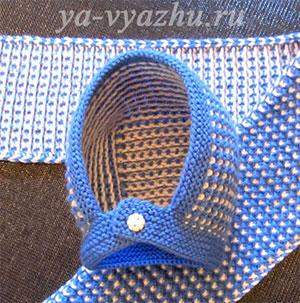 Как связать детскую шапочку и шарфик