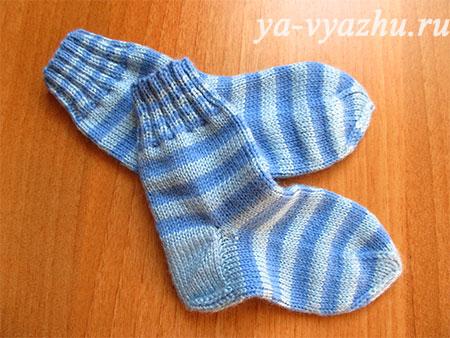 Вязание носков (мастер-класс)