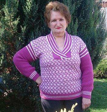 Пуловер Елены Ивановой