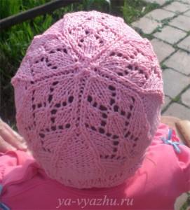 Как связать детскую шапочку для лета