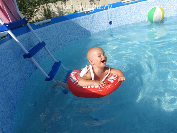 Плавание с кругом освоено на отлично!