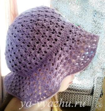Летняя шляпка для дочки