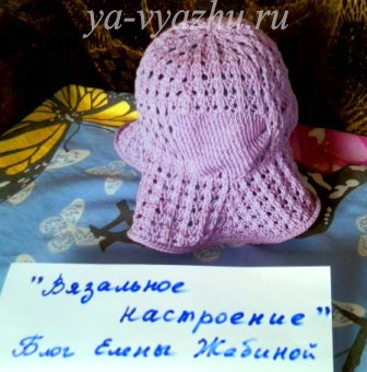 Летняя шляпка на конкурс