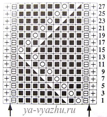 Схема узора 4