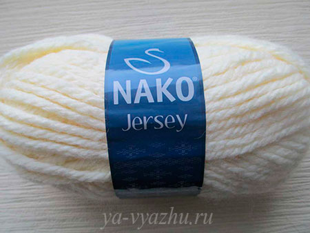Пряжа для вязания шарфа-снуда
