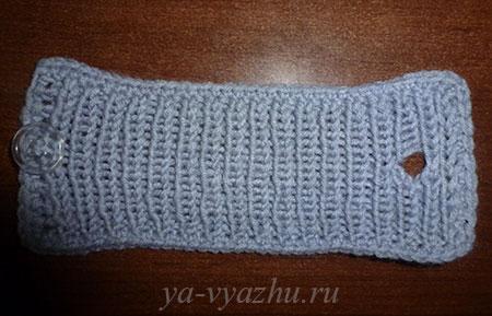 Полоска для стягивания шарфа-хомута