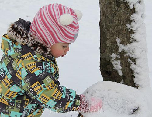Знакомство со снегом