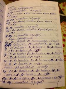 Страница 2 описания вязания шарфа-крокодила