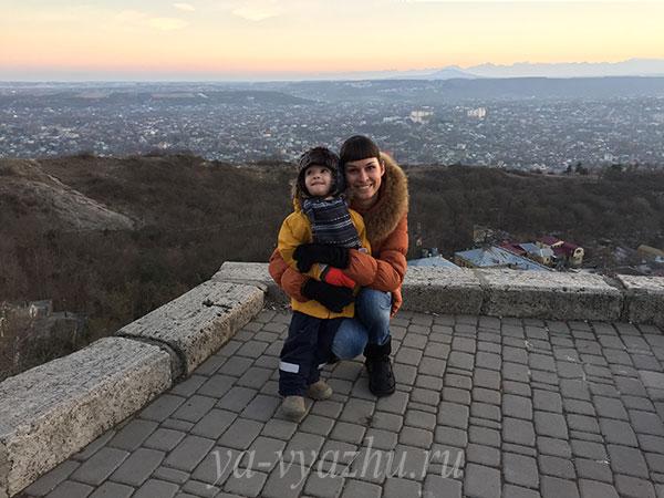 Мама и сынок
