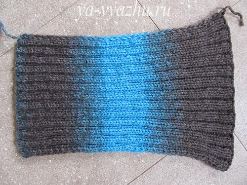 Вяжем рукава пуловера