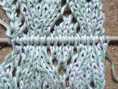 Соединение переда и спинки пуловера