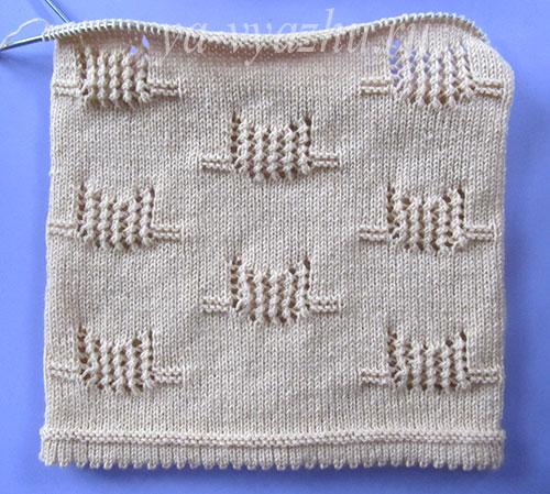 Туловище детского джемпера (пуловера)