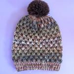 Детская шапка спицами «Лесовичок» подойдет как девочке, так и мальчику