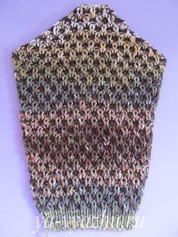 Рукав свитера для мальчика