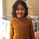 Джемпер «Злата» для любимой внучки 5,5 лет
