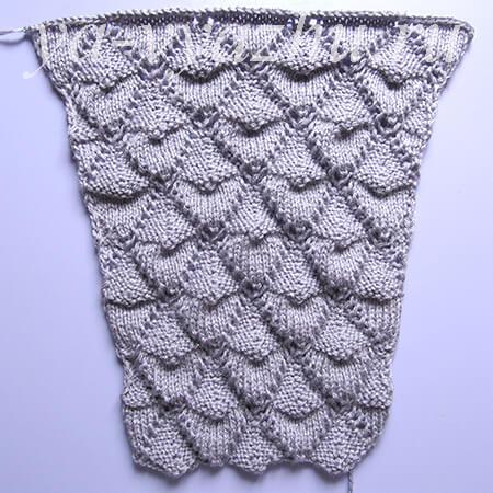 Вязание рукава кофточки для девочки