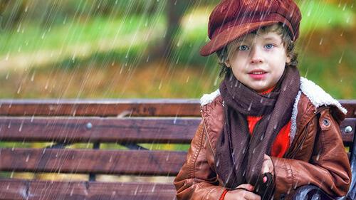 Косой дождь