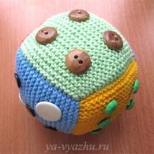 Круглый кубик или квадратный мячик? (мастер-класс)
