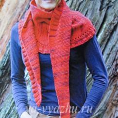 Совсем не кактус бактус, а треугольный шарф!